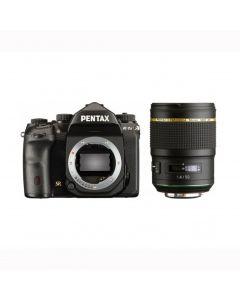 Pentax K-1 II Zwart + 50mm F1.4