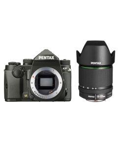 Pentax KP Body Zwart + 18-135mm