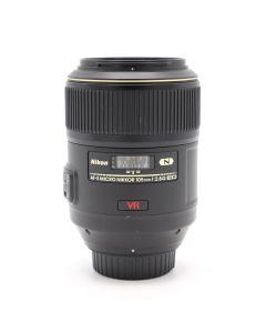 Nikon AF-S VR Micro-Nikkor 105mm F2.8G IF-ED (Occ)